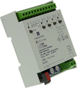 XLED4 CV KNX INS - LED RGBW PWM Dimmer - PWM LED Dimmaktor 4 Kanal