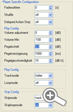Device Settings - Eventplayer100