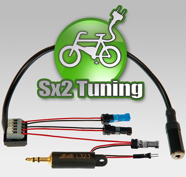 Sx2 Tuning Dongle für Bosch e-bikes - Mit Lichtschalter Ein- und Ausschalten