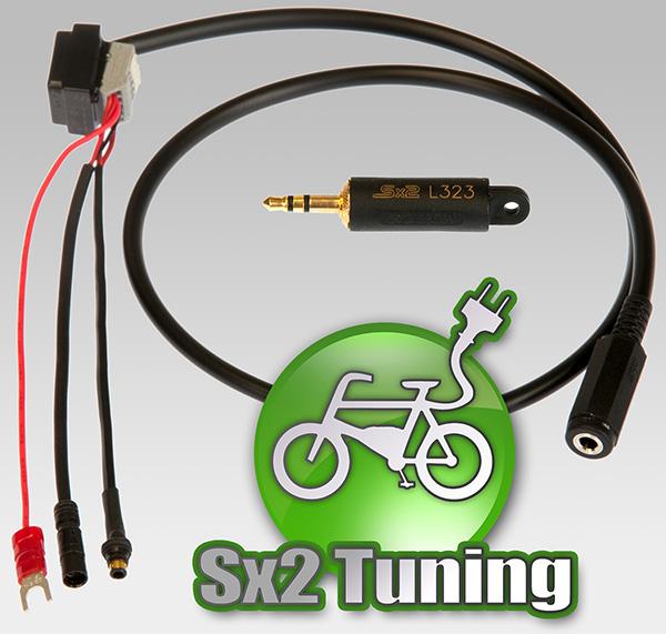 Sx2 Tuning Dongle für Shimano e-bikes - Mit Lichtschalter Ein- und Ausschalten